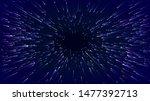 fast movement hyper speed... | Shutterstock .eps vector #1477392713