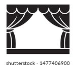classic theater stage with... | Shutterstock .eps vector #1477406900