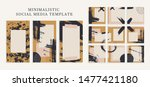 trendy color palette  autumn...   Shutterstock .eps vector #1477421180