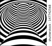 op art  also known as optical... | Shutterstock .eps vector #147742568