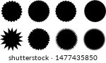 circle shapes collection.... | Shutterstock .eps vector #1477435850