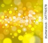realistic bokeh lights   vector ... | Shutterstock .eps vector #147750578