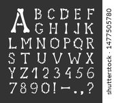 Alphabet. Capital Letters And...