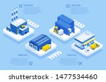 isometric logistics and... | Shutterstock .eps vector #1477534460
