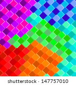 colorful mosaic background.... | Shutterstock .eps vector #147757010
