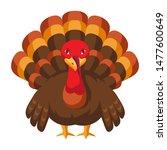 happy thanksgiving illustration ... | Shutterstock .eps vector #1477600649