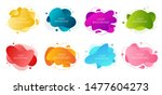 set of 8 abstract modern...   Shutterstock .eps vector #1477604273