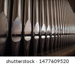 Large Church Pipe Organ...