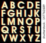 retro vector halftone colorful...   Shutterstock .eps vector #147762689