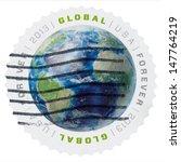 Usa   Circa 2013  The Us Postal ...