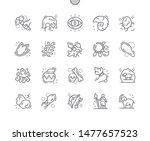 prehistoric well crafted pixel... | Shutterstock .eps vector #1477657523