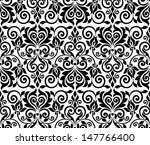 ornamental floral background.... | Shutterstock .eps vector #147766400