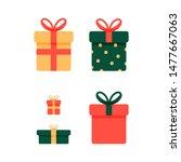 gift present vector white...