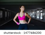 healthy sports lifestyle.... | Shutterstock . vector #1477686200