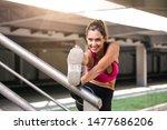 fitness  sport  exercising and... | Shutterstock . vector #1477686206