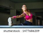 fitness  sport  exercising and... | Shutterstock . vector #1477686209