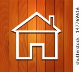 wood house vector concept | Shutterstock .eps vector #147769616