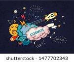 cartoon vector illustration of... | Shutterstock .eps vector #1477702343