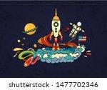 cartoon vector illustration of... | Shutterstock .eps vector #1477702346