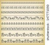 set of borders. vector...   Shutterstock .eps vector #147771050