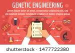 genetic engineering concept...   Shutterstock .eps vector #1477722380