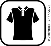 Polo shirt vector isolated