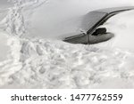 Car Under The Snow. Lots Of...