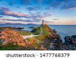Ty Mawr Lighthouse At Sunset On ...