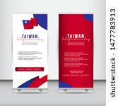 taiwan independence day vector... | Shutterstock .eps vector #1477783913