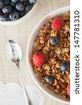 muesli with berries | Shutterstock . vector #147781310