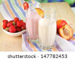 delicious milk shakes with... | Shutterstock . vector #147782453