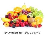 fresh fruits and berries... | Shutterstock . vector #147784748