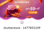 autumn sale  pink web banner...
