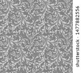 seamless pattern in classic... | Shutterstock .eps vector #1477882556