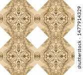 Delicate Lace Pattern. Graphic...