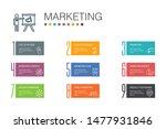 marketing infographic 10 option ...