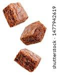 Chocolate Brownie Cake On A...