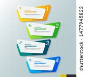 infographics design template ... | Shutterstock .eps vector #1477945823