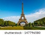 Eiffel Tower And Champ  De Mar...