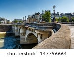 Pont Neuf And Cite Island In...