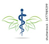 medical symbol created using... | Shutterstock .eps vector #1477989299