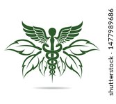 medical symbol created using... | Shutterstock .eps vector #1477989686