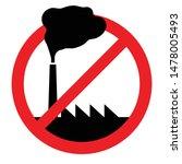 "illustration of a ""no pollution""... | Shutterstock .eps vector #1478005493"