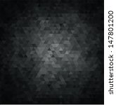 black abstract background   Shutterstock .eps vector #147801200