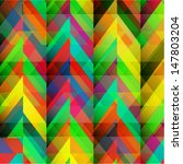 colorful geometric texture  ... | Shutterstock .eps vector #147803204