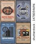 car service center  diagnostics ...   Shutterstock .eps vector #1478054696