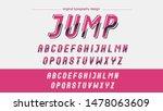 pink modern sports typography...   Shutterstock .eps vector #1478063609