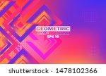 minimal geometric background.... | Shutterstock .eps vector #1478102366