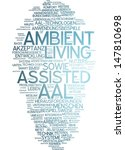word cloud   assisted ambient... | Shutterstock . vector #147810698