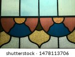 Sunlit Stained Glass Leaded...